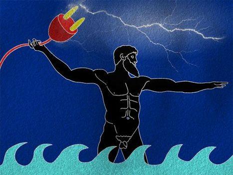 neptun és az áram