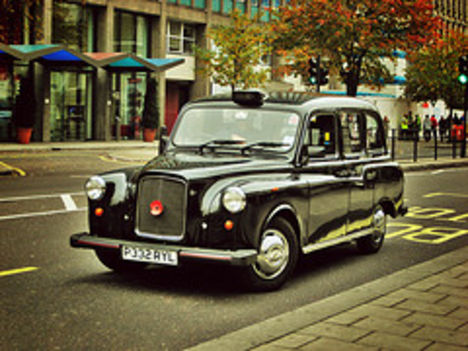 old style taxi