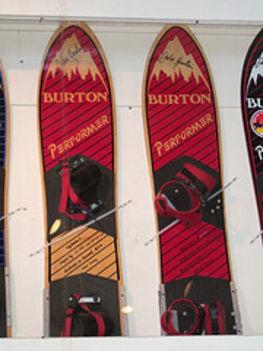 régi Burton deszkák