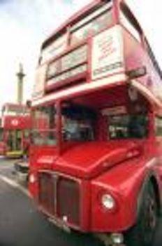 régi londoni busz