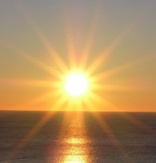 lelkiharmónia süssön rád a nap kép