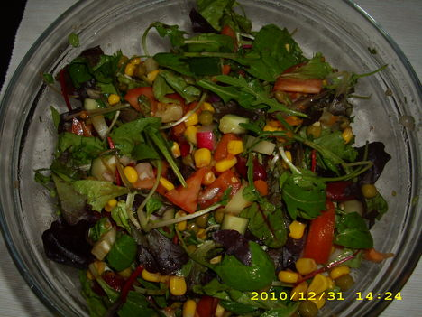 Vegyes saláta konzervvel 001