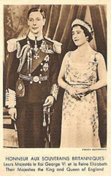 VI. György király és Erzsébet királyné