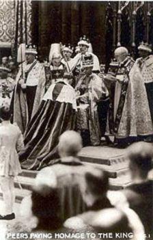 VI. György koronázása
