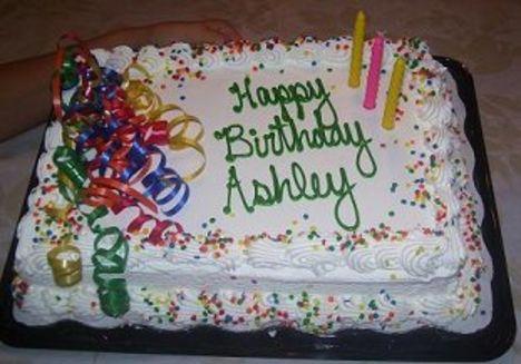 Vidám születésnapi torta