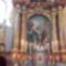 Ausztriai Rattersdorf-i templom főoltára Mária találkozása Erzsébettel