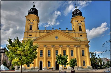 Debrecen - Nagytemplom - The Great Reformed Church - 2012