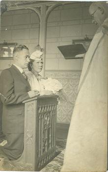 Pacher Alajos esküvő
