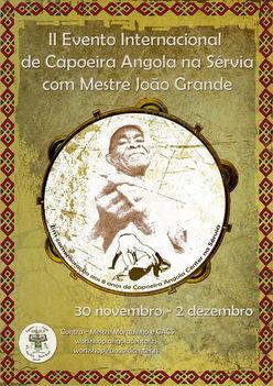 Nemzetközi Angola Workshop Mestre Joao Grandeval