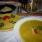 karfiolkrém leves sajtgaluskával