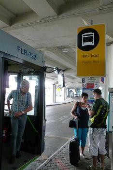 Budapest Airport fölött és érkezés 3