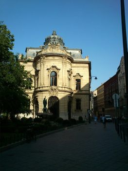 A fővárosi központi könyvtár épülete