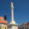 A felújított Mária szobor