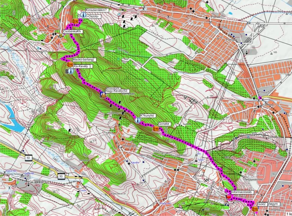 csobánka térkép Pilis hegység: Csobánka térkép (kép) csobánka térkép