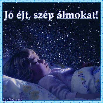 szep-estet-alvo-gyermekJó éjszakát mindenkinek !