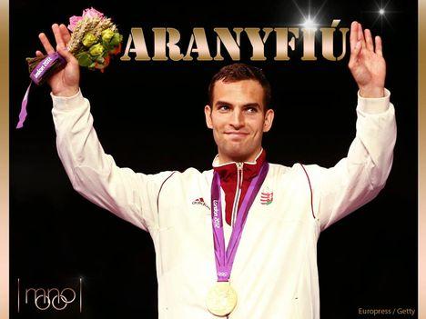 Szilágy Áron Olimpiai arany!