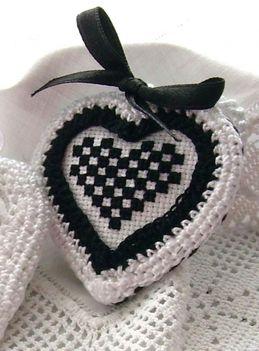 szív fekete