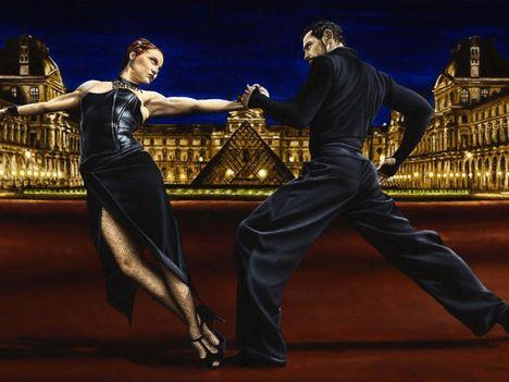 tánc, tangó, táncművészet 4 Tangó Párizsban