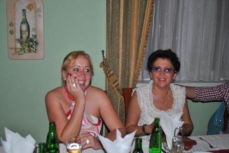 Cseke Viki és édesanyja Mártika