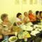 a 4 éves jubileumi megnyitón a Zenebarátkör tagságának egyik vidám csoportja