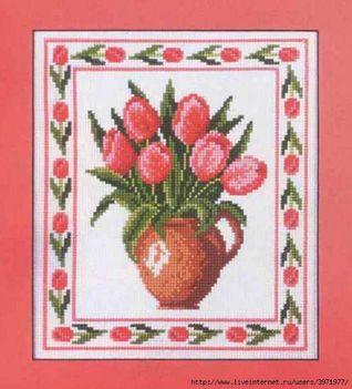 tulipánt  xszemes minta  17