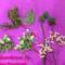 gyöngy virág csokor mintája lépésről- lépésre 16
