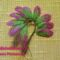 gyöngy virág csokor mintája lépésről- lépésre 1