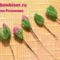 gyöngy virág csokor mintája lépésről- lépésre 3