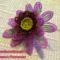 gyöngy virág csokor mintája lépésről- lépésre 6