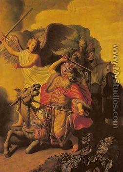 Angyal és Bálám proféta