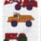 autó minták keresztszemes 3