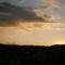 Napnyugtakor nyugat felől