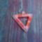 peyote háromszög egy kis szalmával fűszerezve