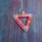 peyote háromszög egy kis szalmával megfűszerezve