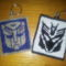 Transformers kulcstartók