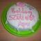 Első fondant tortám