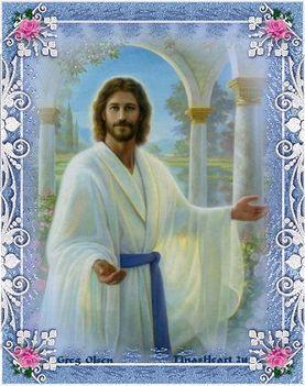 jézus kép imák