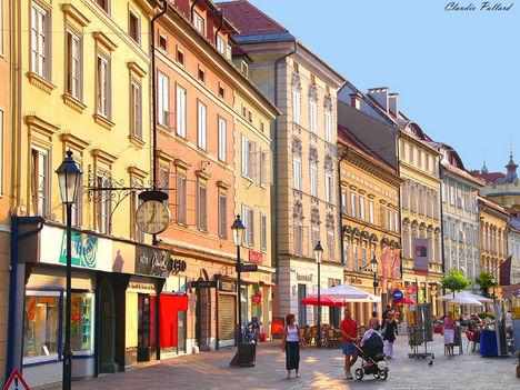 Klagenfurt utcája