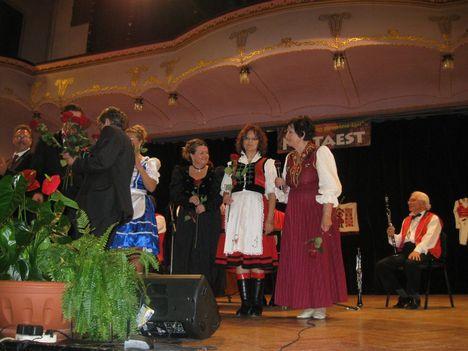 Kovács Apollónia Kossúth-Díjának Erdélyi megünneplése Marosvásárhelyen a Kultúrpalotában 1