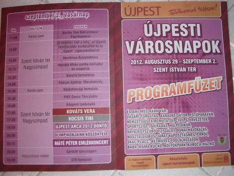 Újpesti Városnapok 2012.augusztus vége.