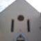 Vasvári bucsujáró temlom bejárata
