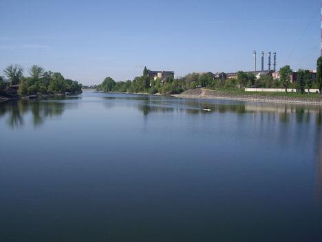 Kopaszi gátnál a Duna