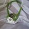 zöld nyakdísz