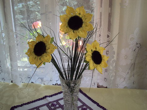 Horgolt virágok 033