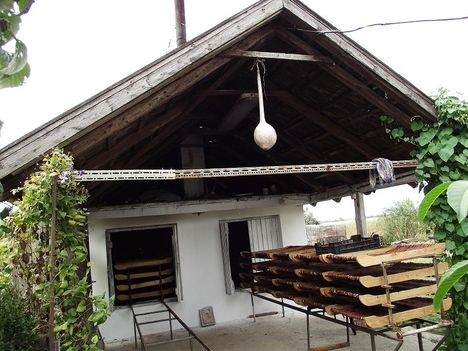 Penyige Biogazdaság, lekvárfőző, aszaló épülete