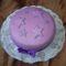 Csillagos égbolt torta