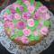 Halvány rózsás torta