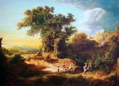 Markó Károly festmény