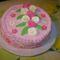 Rózsás - epres torta