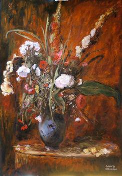 Munkácsy-Virágcsendélet
